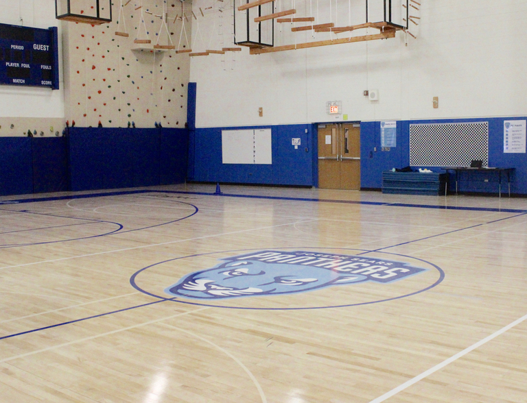Sears Resurfaces Gymnasium Floor