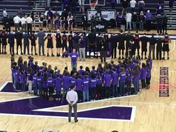 Sears Choir Sings at Northwestern Game